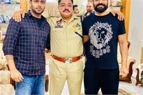 mankirat aulakh share a pic with babbu maan on instagram account
