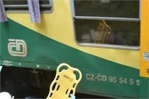 two trains collide in czech republic
