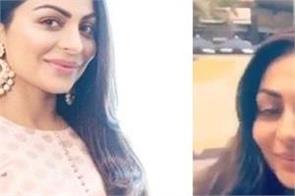 neeru bajwa shared a video on her instagram