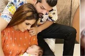 mansi sharma posted a cute family picture on social media