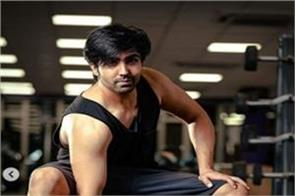 punjabi singer harrdy sandhu shared his new gym pictures