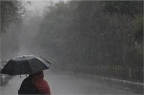 meteorological department  warning  rain