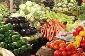rise in prices of green vegetables including tomatoes and potatoes