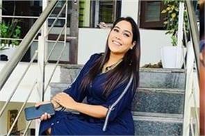 punjabi singer afsana khan made tattoo on her arm