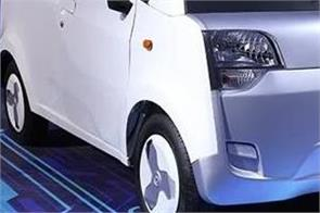 mahindra atom electric car spied testing