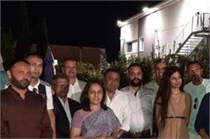 italy  indian embassy aas di kiran