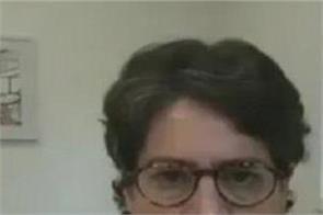 journalist shot priyanka gandhi statement