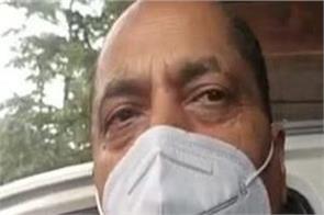 himachal pradesh jairam thakur corona virus report negative