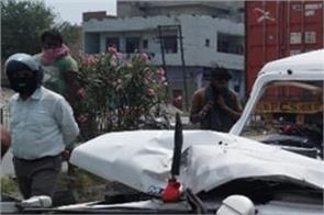 amritsar  lieutenant colonel  vehicle  accident