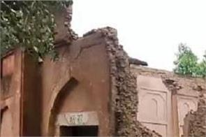 jaito historic fort rain dashed