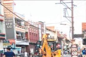 railway roads  construction work  traffic