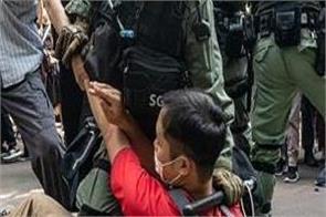 hong kong  4 students arrested