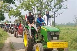 sukhbir badal is betraying farmers by stabbing them in the back