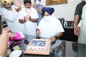 sukhbir singh badal birthday