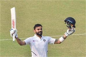 kohli retains second place in test rankings