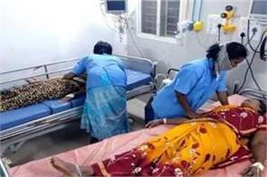 andhra pradesh  ammonia gas leak in milk dairy  12 people fainted
