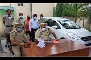 shahkot police  heroin recoverd