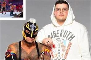 ray mysterio s son landed in the wrestling ring