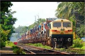 yeddyurappa will show the green flag of the country  s first roro train today