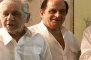 dilip kumar s younger brother test corona positive hospitalised