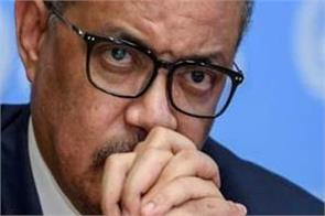 who chief tedros adhanom warning corona virus corona vaccine