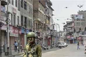 2 day curfew in kashmir one year of article 370 removal