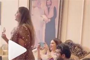 ajit mehndi shared video of yuvraj hans  s son hredaan birth celebration