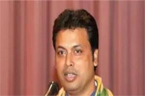 tripura chief minister biplab kumar deb corona virus report negative