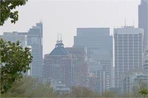 air quality in calgary deteriorates due to wildfire smoke
