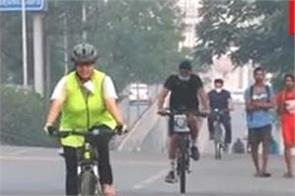 jalandhar traffic police highway cycling