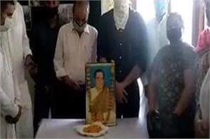 jalandhar  former pm rajiv gandhi  s 76th birthday was celebrated