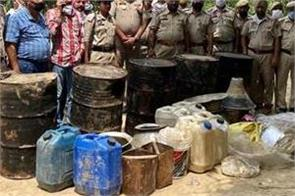 dasuya police  major action excise department recovered alcohol
