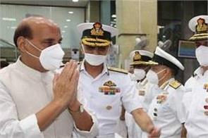 navy ready to face any challenge  rajnath