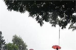 heavy rain warning since yesterday in himachal