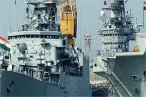 indian navy deployed warships in the south china sea