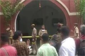railway official  s wife  son found shot dead in high profile lucknow area