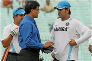 dhoni had the ability to hit big shots so landed in the top order ganguly