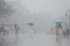 three days of heavy rains warned in himachal