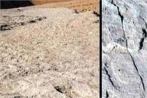 120 000 year old footprints found in saudi arabia