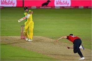 aus won the last t20 match by 5 wickets