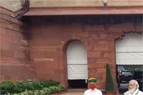 monsoon season narendra modi in the parliament