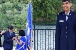 usa indian girl airforce rajasthan