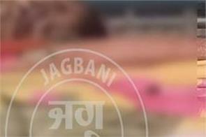 man murder in garhshankar