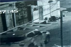 thieves cctv lehragaga car