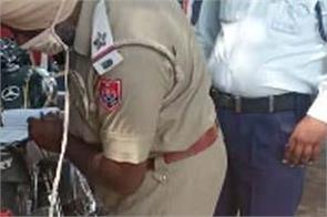 traffic police kapurthala
