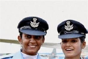 indian air force women officer posted