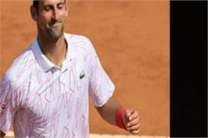 novak djokovic  rafael nadal  italian open tennis tournament  third round