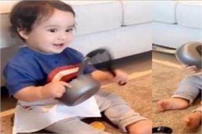 gippy grewal son gurbaaz grewal cute video