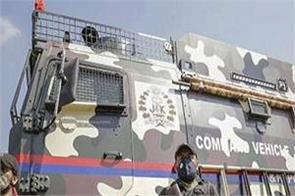 combat terrorism j k police induct command vehicle
