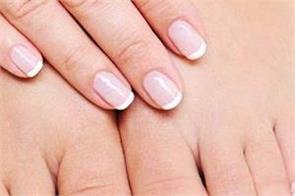 beauty tips  feet  fingers  attention